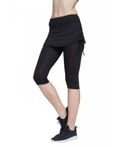 HonourSport Cropped Leggings Drawstring Running