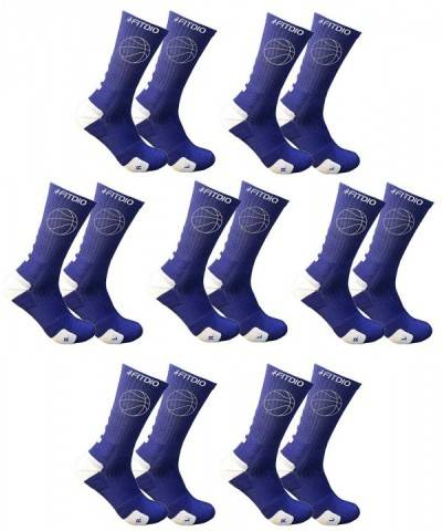 Cushioned Athletic Basketball Compression 7 Pairs