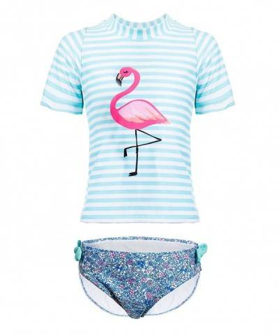 DUSISHIDAN Swimsuit Flamingo Animal Bathing