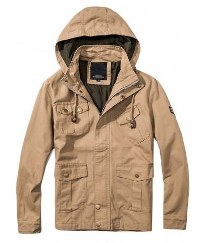 Cotton Bomber Military Multi Pocket Removable
