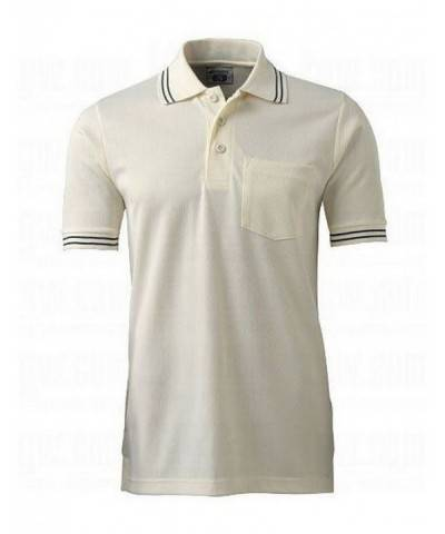 CHAMPRO Umpire Shirt Cream Small
