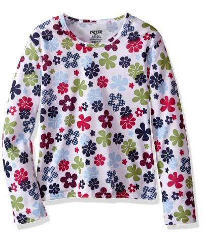 Hot Chillys Pepper Crewneck Flower
