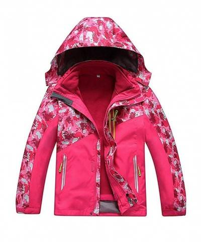 M2C Hooded Waterproof Fleece Mountain